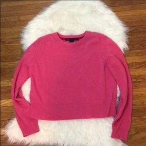Marc Jacobs Merino Wool Crew Neck Sweater Pink